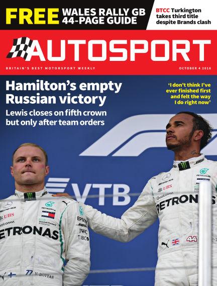Autosport October 04, 2018 00:00