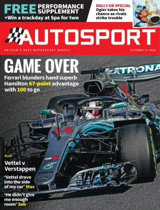 Autosport 12th October 2018