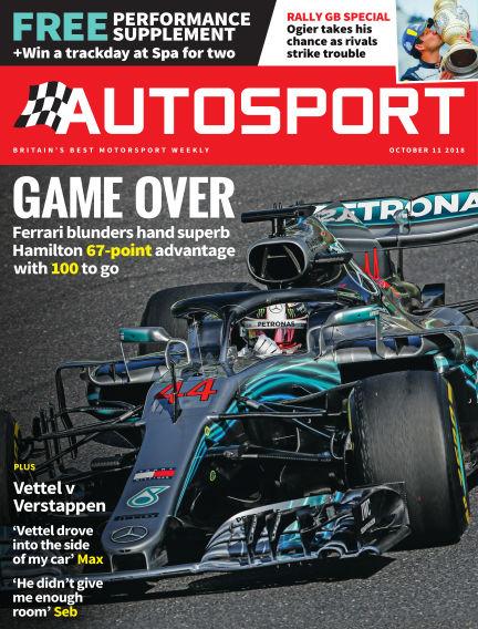 Autosport October 11, 2018 00:00