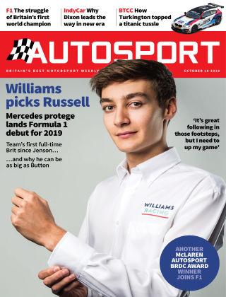 Autosport 19th October 2018