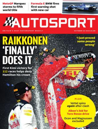 Autosport 25th October 2018