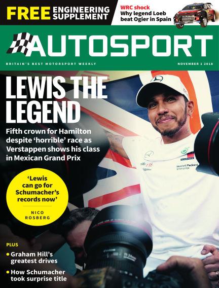 Autosport November 01, 2018 00:00