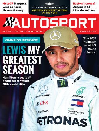 Autosport 8th November 2018