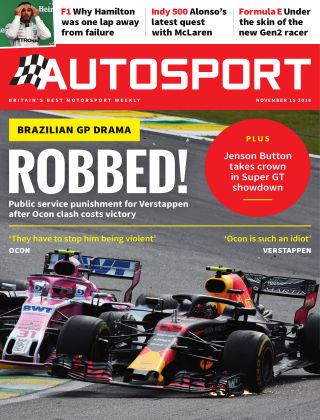 Autosport 15th November 2018