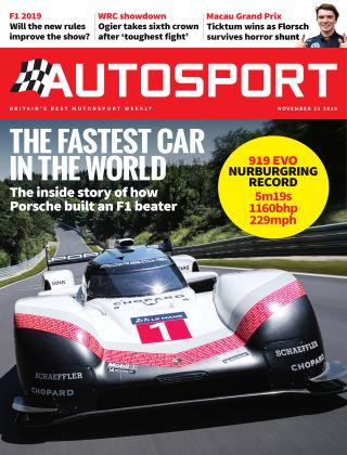 Autosport 22nd November 2018