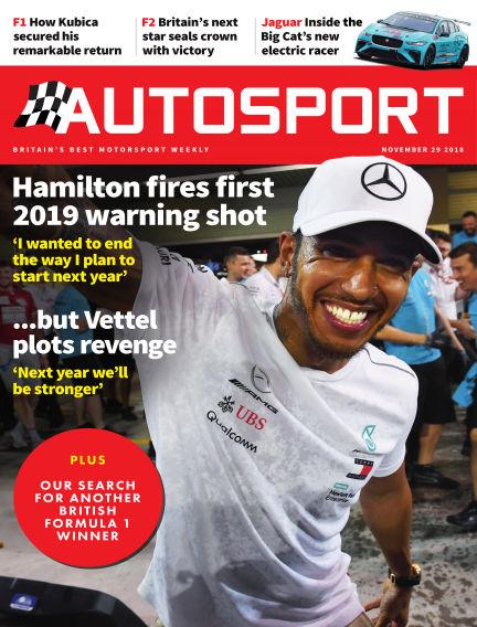 Autosport November 29, 2018 00:00