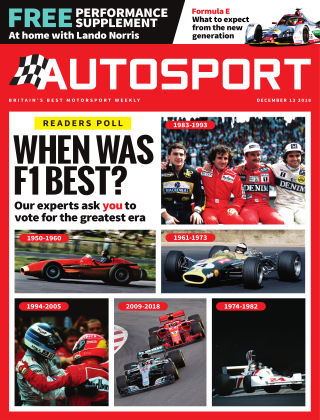 Autosport 13th December 2018