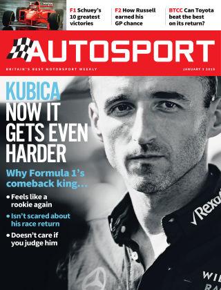 Autosport 3rd January 2019