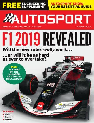 Autosport 10th January 2019