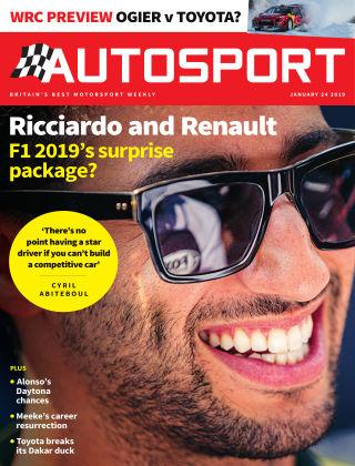 Autosport 24th January 2019