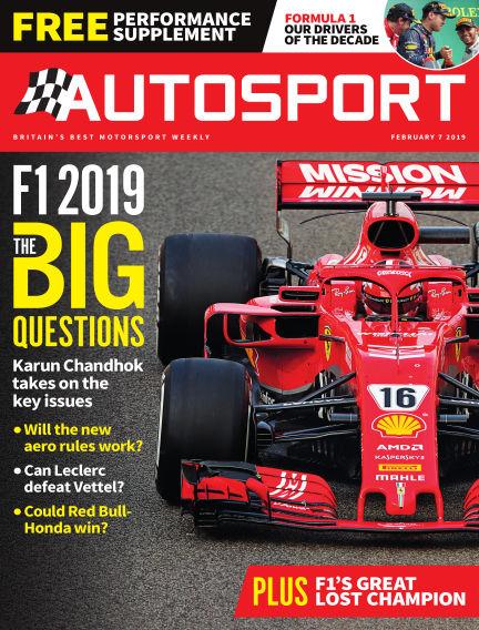 Autosport February 07, 2019 00:00