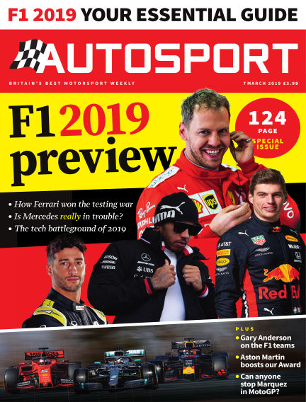 Autosport March 07, 2019 00:00