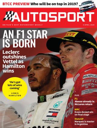 Autosport 4th Aprli 2019