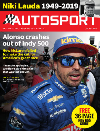 Autosport 23rd May 2019