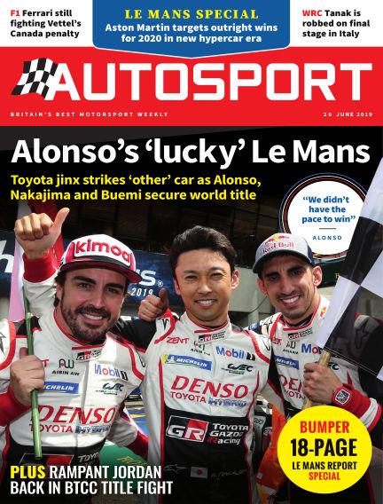 Autosport June 20, 2019 00:00