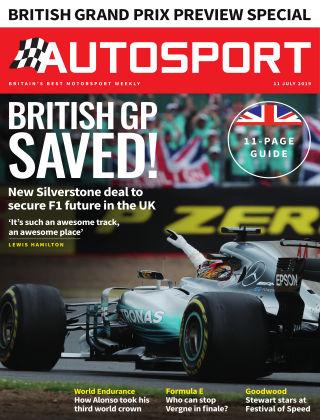 Autosport 11th July 2019