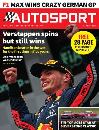 Autosport 1st August 2019