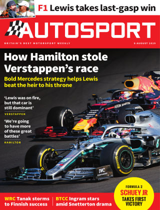 Autosport 8th August 2019