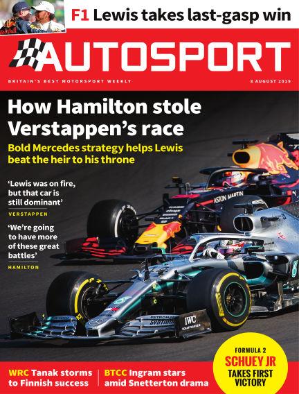 Autosport August 08, 2019 00:00