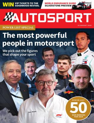 Autosport 29th August 2019