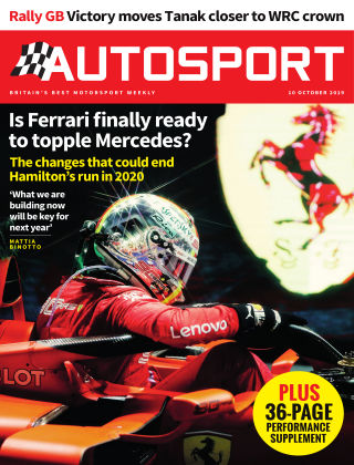 Autosport 10th October 2019