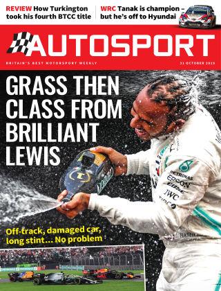 Autosport 31st October 2019
