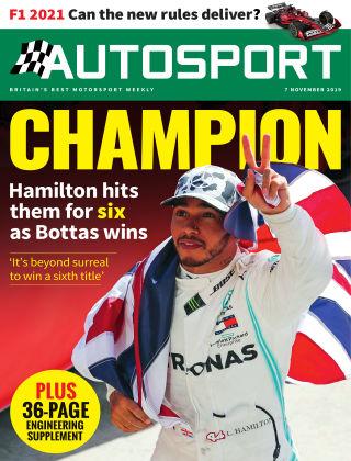 Autosport 7th November 2019