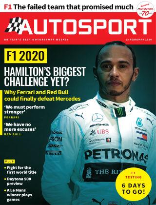 Autosport 13th February 2020