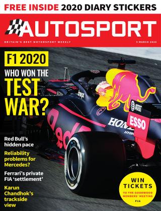 Autosport 5th March 2020