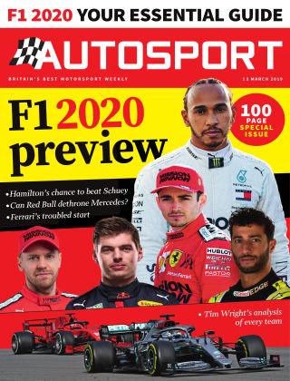 Autosport 12th March 2020