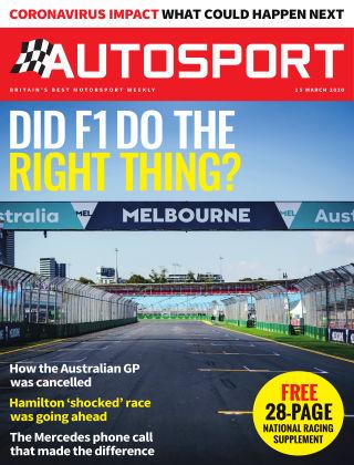 Autosport 19th March 2020