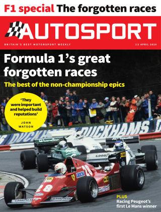 Autosport 23rd April 2020