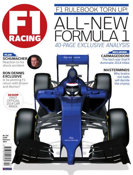 F1 Racing February 01, 2014 00:00