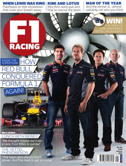 F1 Racing January 01, 2014 00:00
