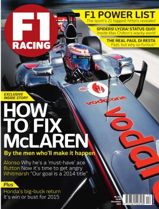 F1 Racing Dec 2013