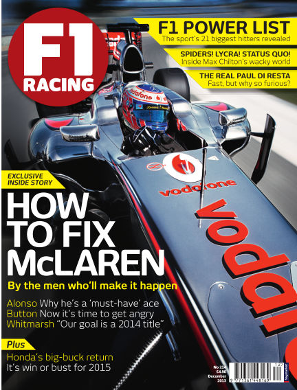 F1 Racing December 01, 2013 00:00