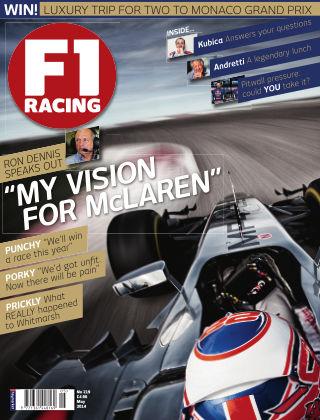F1 Racing May 2014