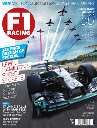 F1 Racing July 2014