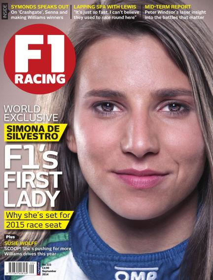 F1 Racing August 14, 2014 00:00