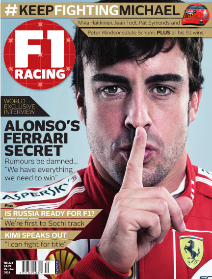 F1 Racing September 11, 2014 00:00