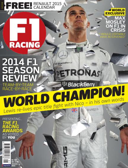 F1 Racing December 18, 2014 00:00