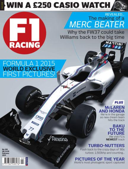 F1 Racing January 22, 2015 00:00