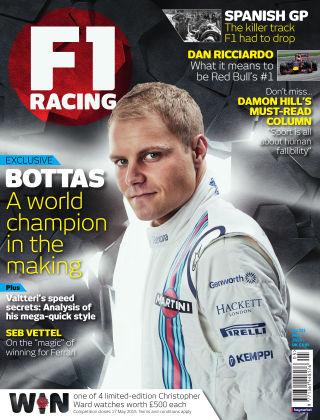 F1 Racing May 2015