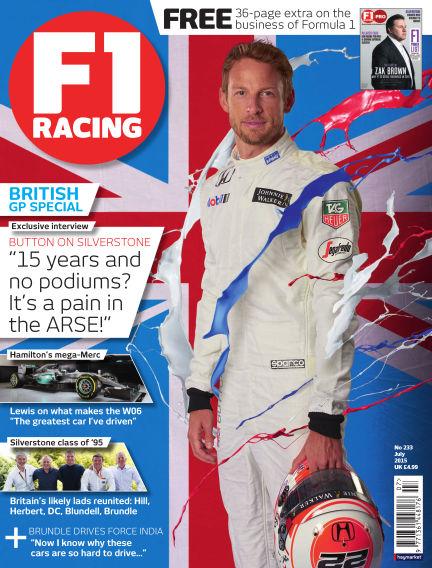 F1 Racing June 18, 2015 00:00