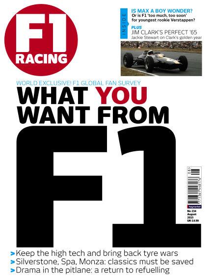 F1 Racing July 16, 2015 00:00