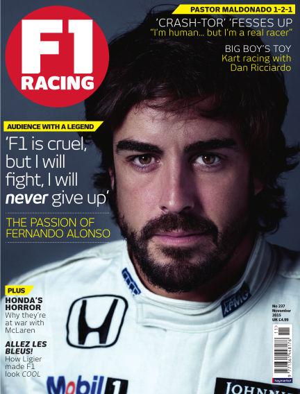 F1 Racing October 08, 2015 00:00