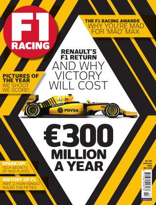 F1 Racing February 2016