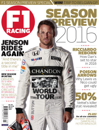 F1 Racing March 2016
