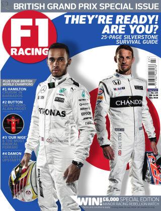 F1 Racing July 2016