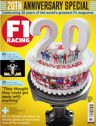 F1 Racing August 2016